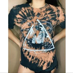 Panic at the Disco Custom Bleached T-shirt